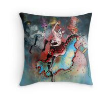 French Kankan Throw Pillow