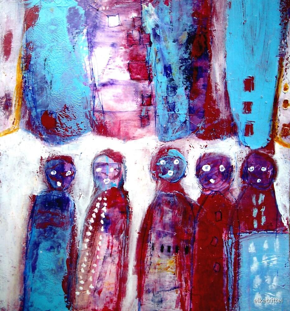 Standing in line... by elketrittel