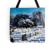 Hethersett Church in Winter Tote Bag