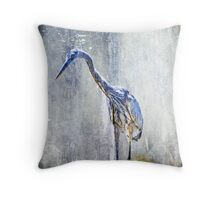 Great Blue Heron - Ardea herodias Throw Pillow