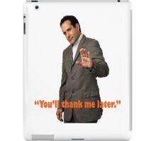 Monk Quote  iPad Case/Skin