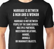 Marriage In America Unisex T-Shirt