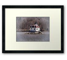 Esopus Meadows Lighthouse Framed Print