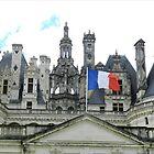 Chateau du Chambord by hans p olsen