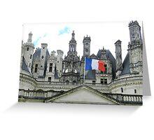 Chateau du Chambord Greeting Card