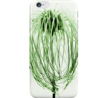 Page green iPhone Case/Skin