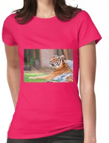 Bengal Tiger Womens Fitted T-Shirt
