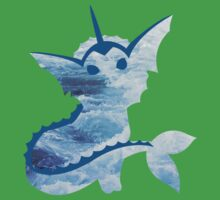 Vaporeon Waves Kids Clothes