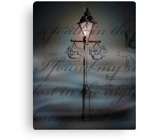 Light in the Fog Canvas Print