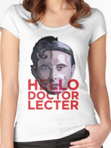 Doctor Lecter  Women's Fitted Scoop T-Shirt