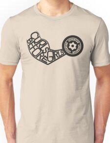 Curls Before Girls (Black) Unisex T-Shirt