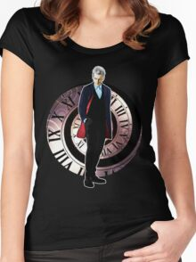 The 12th Doctor - Peter Capaldi Women's Fitted Scoop T-Shirt
