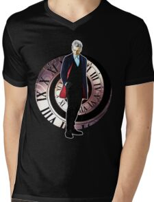 The 12th Doctor - Peter Capaldi Mens V-Neck T-Shirt