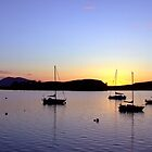 Sunset, Oban Bay by TJLewisPhoto