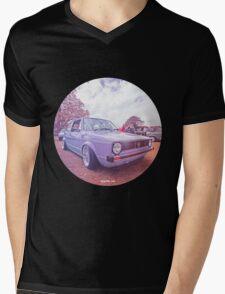 Mk1 Golf Dreams Colour Mens V-Neck T-Shirt