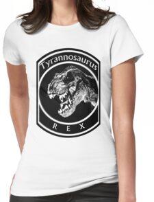 Tyrannosaurus Rex Emblem Womens Fitted T-Shirt