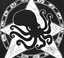 Cephalopod God (Crafty Hag Logo) by craftyhag
