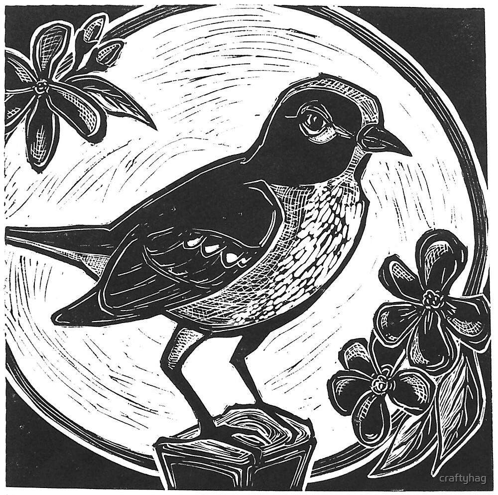 Midnight Mockingbird by craftyhag