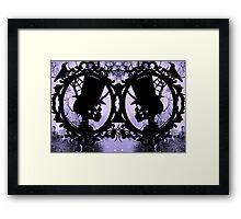 Spooksville forest Framed Print