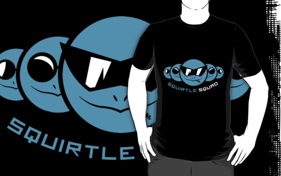 Squirtle Squad by UbeBones