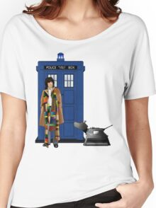 The Doctor and K-9 Women's Relaxed Fit T-Shirt
