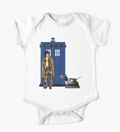 The Doctor and K-9 One Piece - Short Sleeve