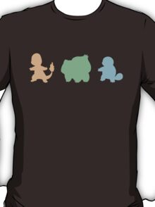 Pokémon Starter Silhouettes T-Shirt