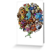 Muppets World of Friendship Greeting Card