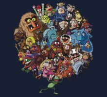 Muppets World of Friendship Kids Tee
