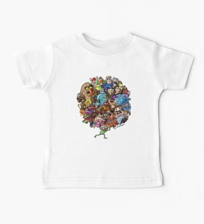 Muppets World of Friendship Baby Tee