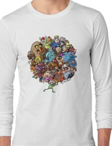Muppets World of Friendship Long Sleeve T-Shirt