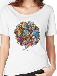 Muppets World of Friendship Women's Relaxed Fit T-Shirt