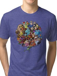 Muppets World of Friendship Tri-blend T-Shirt
