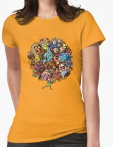 Muppets World of Friendship Womens T-Shirt
