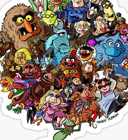 Muppets World of Friendship Sticker