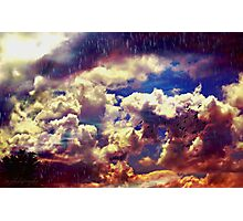 When the rain came down Photographic Print