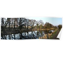 Canal panoramic Poster