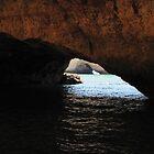 The Caves, Lagos, Portugal by Sarah Cowan