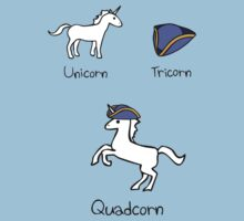 Unicorn + Tricorn = Quadcorn by jezkemp