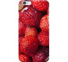 Wild strawberries iPhone Case/Skin