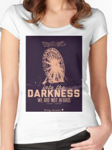 Darkness [Candy] Women's Fitted Scoop T-Shirt