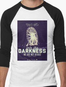Darkness [Retro] Men's Baseball ¾ T-Shirt