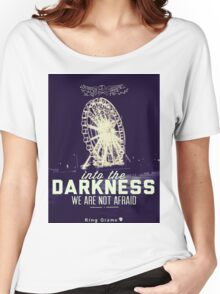 Darkness [Retro] Women's Relaxed Fit T-Shirt