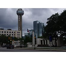 Dealey Plaza - Reuinon Tower - Downtown Dallas - May 2013 Photographic Print