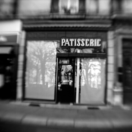 Patisserie - Grenoble, France by Urban Hafner