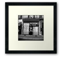 Patisserie - Grenoble, France Framed Print