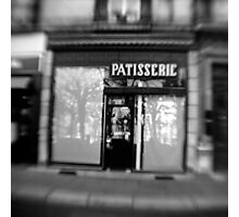 Patisserie - Grenoble, France Photographic Print