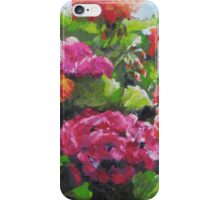 Garden Corner - Original Painting iPhone Case/Skin