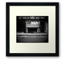 Chocolaterie Daniel Hybord - Grenoble, France Framed Print