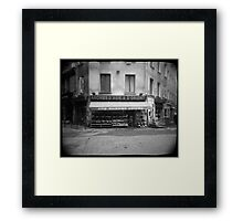 Aromes d'asie & d'orient - Grenoble, France Framed Print